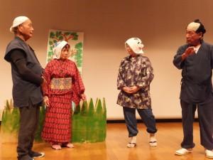 ひらかわ劇団 上平川地区に伝わる「行人堂」の応援